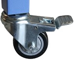 TMS-RT-CASTERS<br>Optional Locking Casters for Rhino Cutting Table